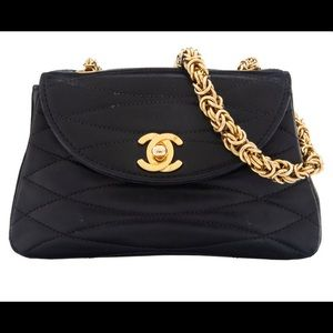 Coming soon! Gorgeous mini Chanel Flap Bag Vintage